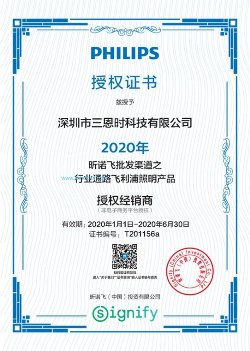 Philips Authorized Agent In China in 2020