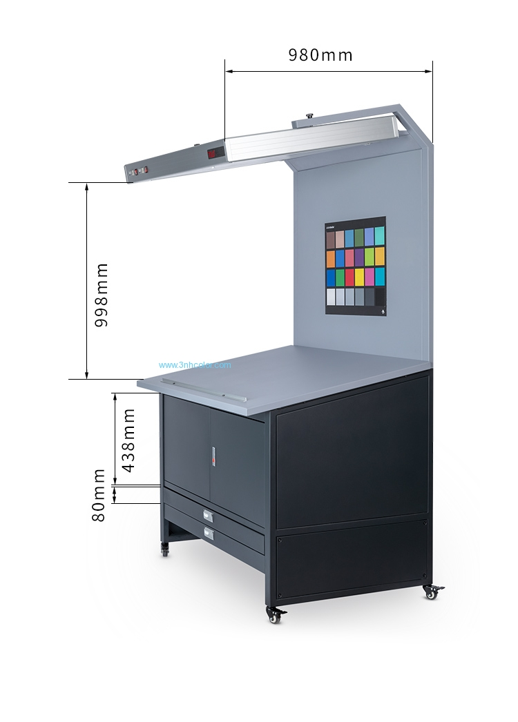 CC120E Color Proof Station Light Box With Drawer