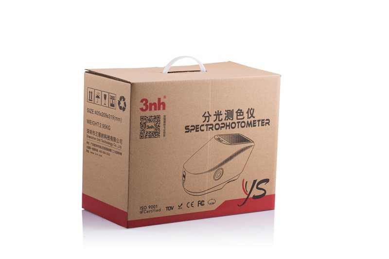 YS3010 spectrphotometer carton box
