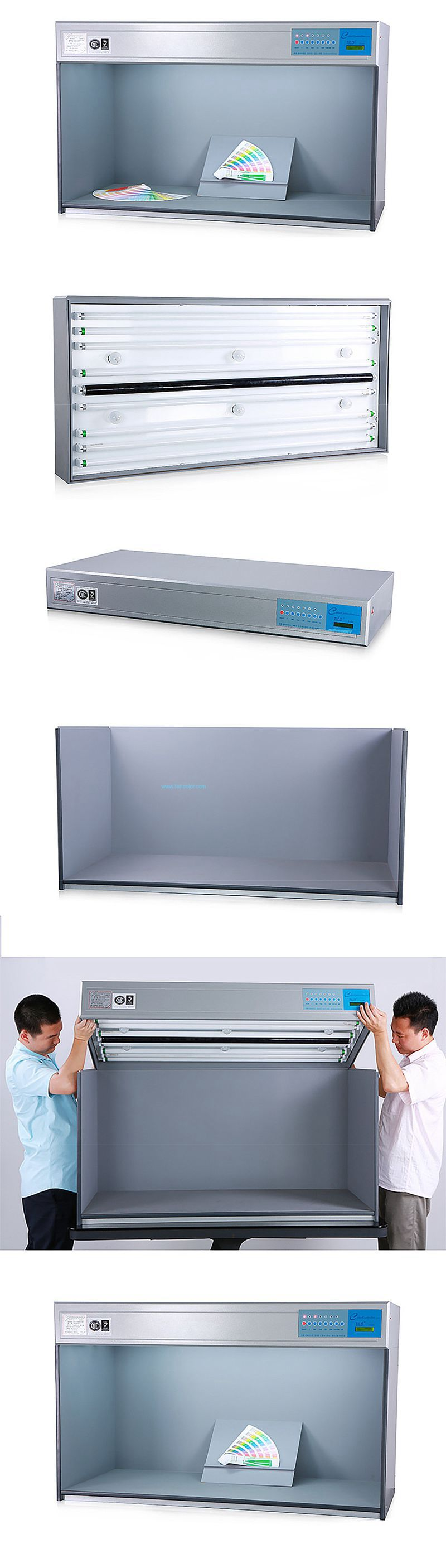 P120 Color Light Box - 1200mm - 6 Lights