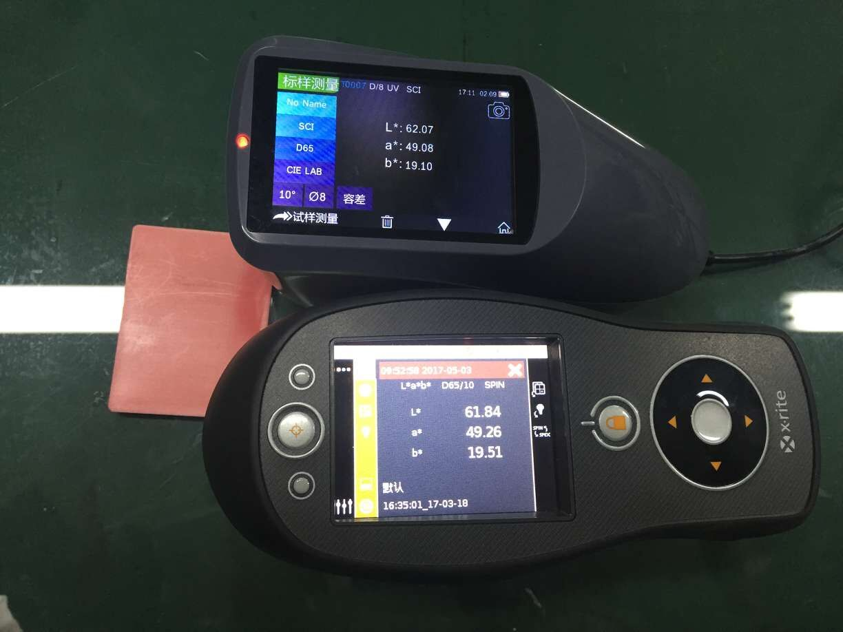 YS3010 spectrophotometer compared to Xrite CI60 spectrophotometer