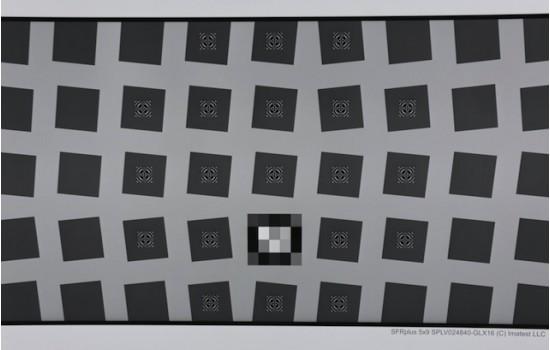 Sineimage SFRplus Large LVT Film Test Chart Transparent