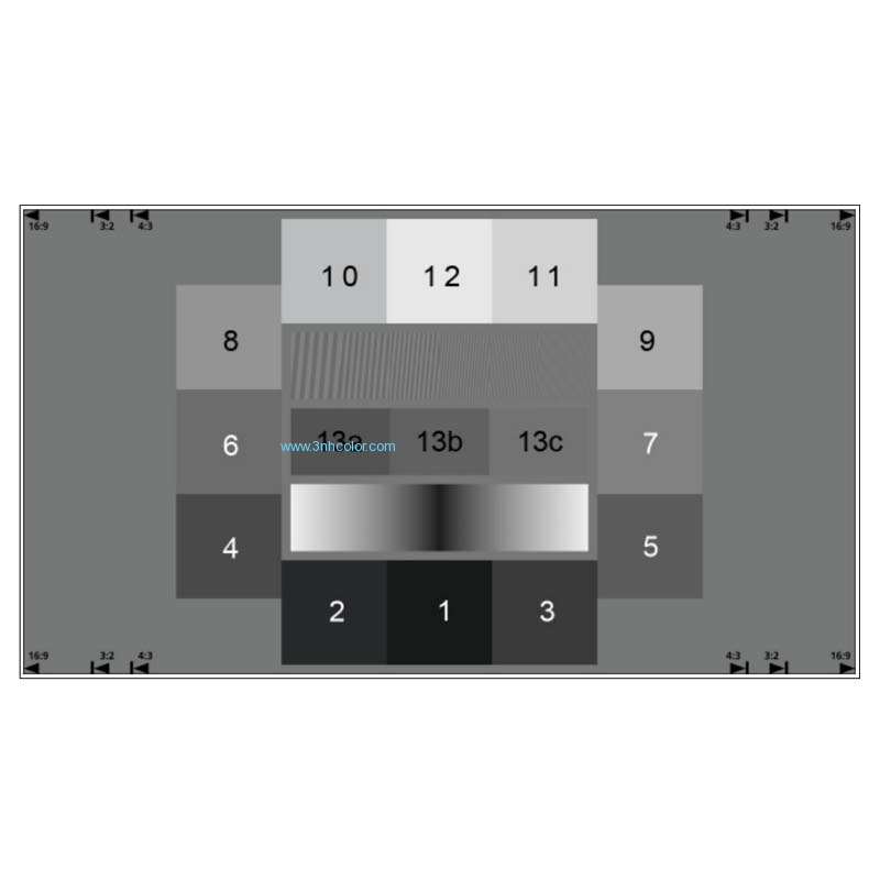 SineImage YE0219 Noise Measurement Test Chart (ISO 15739)
