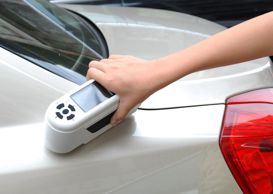 NH310 colorimeter for car painting industry