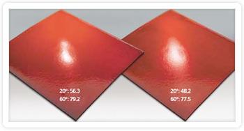 Độ bóng bề mặt vật liệu
