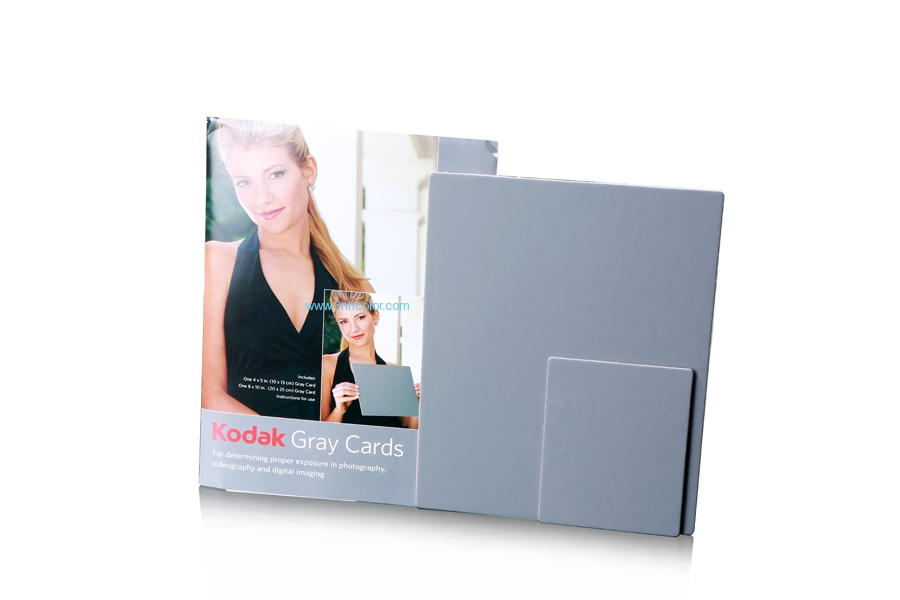 Kodak Gray Card Test Charts