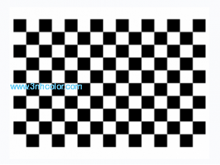 Checkerboard Distortion Test Target T06 for checking geometry and resolution
