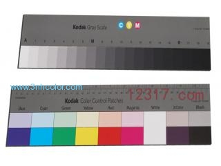 Kodak Q-14 Gray Scale Chart Kodak Color Control Patches