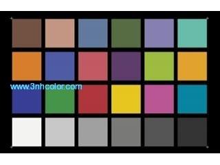 3nh YE0188 Color Rendition Chart ColorChecker