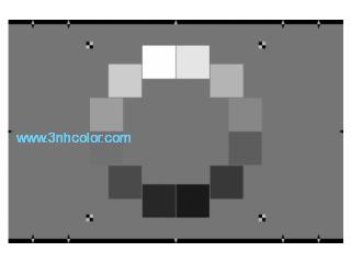 Sineimage OECF Test Chart (ISO 14524) YE0197