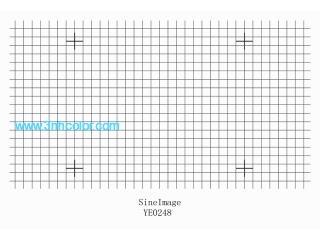 Sineimage Distortion Grid Test Chart YE0248