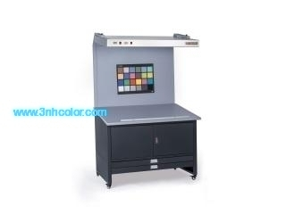 CC120E Color Proof Station Light Box With Cupboards and Drawers