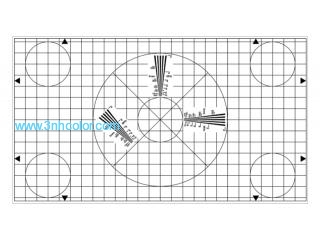 SineImage YE0166 GRID TEST CHART for Electronic Cameras