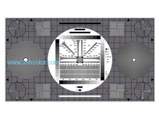SineImage YE0167 HDTV UNIVERSAL TEST CHART for HDTV Cameras