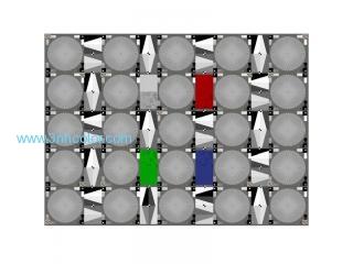 Sineimage YE0268 Lens Resolution Sharpness Test Chart