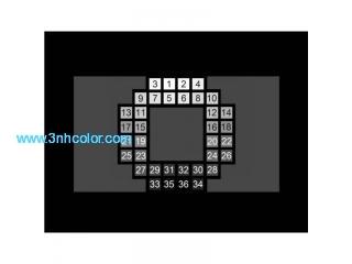 SineImage YE0269 Digital high dynamic range cameras OECF 36 chart