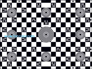 SineImage YE006 CHESSBOARD TEST CHART REFLECTANCE