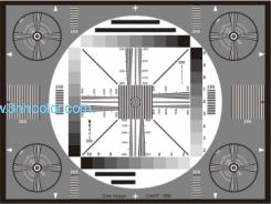 Sineimage YE080 (EIA-1956) EIAJ TEST CHART II