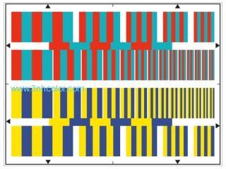 Sineimage YE0162 CHROMINANCE RESOLUTION TEST CHART