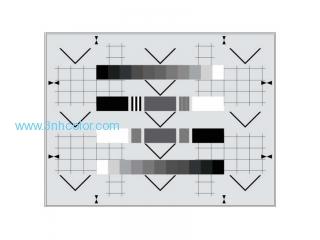 Sineimage YE0195 Ikegami Camera CPU Test Chart