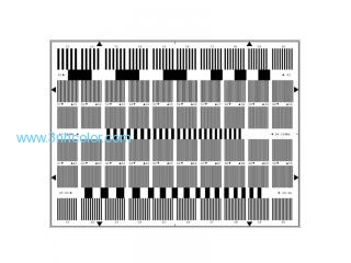 Sineimage YE0199 Multi Burst Test Chart