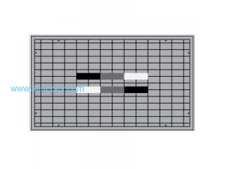 Sineimage YE0200 Sony HDTV Set Up Test Chart