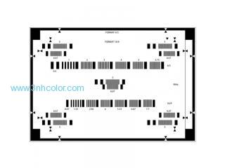 Sineimage YE0207 Resolution Test Chart