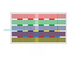 Sineimage YE0222 HDTV Color Resolution Test Chart