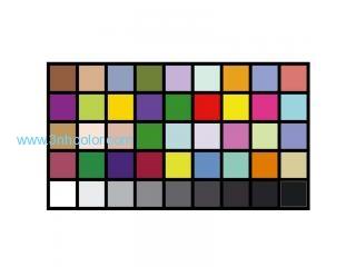 Sineimage YE0226 DTV Color Rendition Test Chart