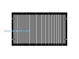 Sineimage YE0231 HD Sweep Test Chart for HDTV cameras