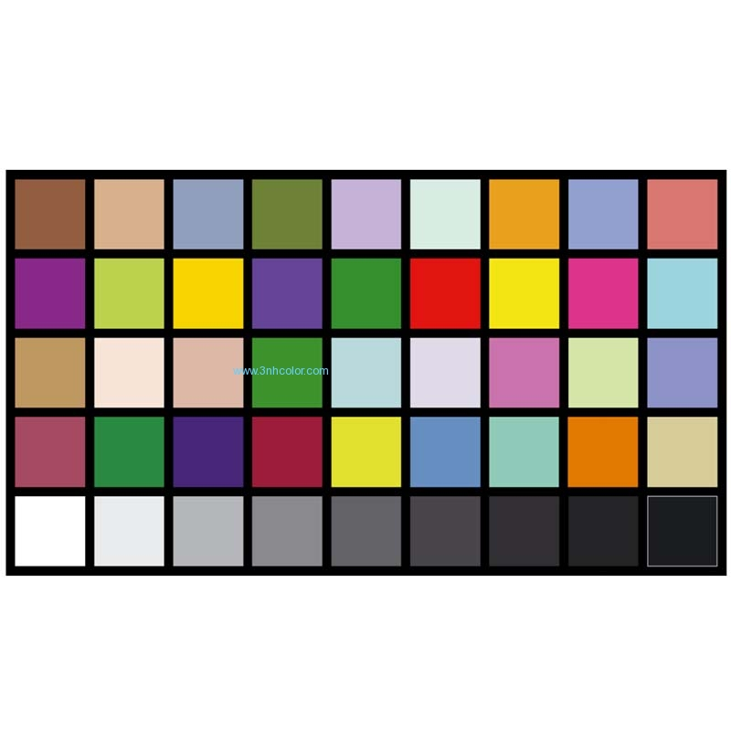 Sineimage YE0226 DTV Color Rendition Test Chart